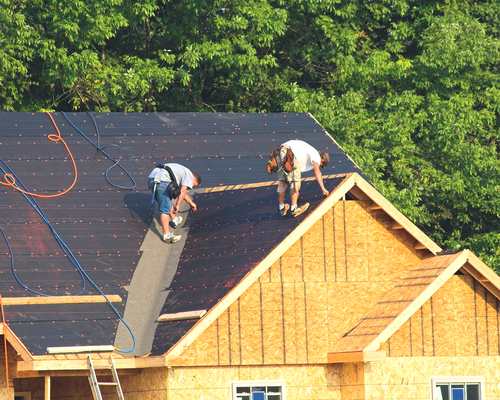 Kansas City New Home Roofing